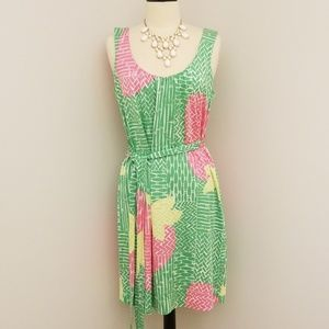 Lilly Pulitzer silk sleeveless dress - EUC
